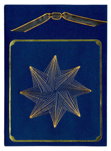 Blue Star wth Ribbon